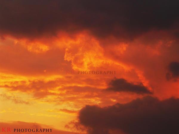 Ocean of Flames by FanArtistik