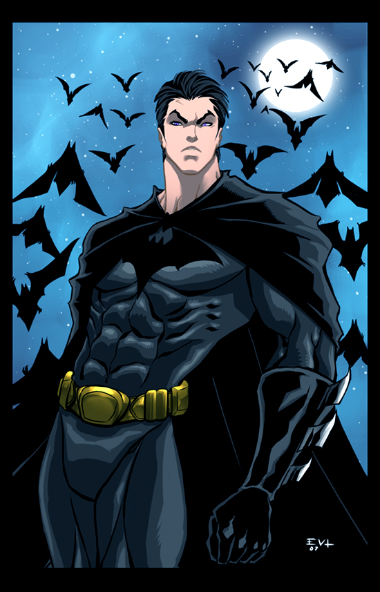Young Bruce Wayne by ErikVonLehmann