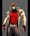The X-Men evl Gambit