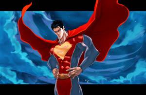 Superman Man of Steel by ErikVonLehmann