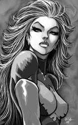EVL-Phoenix Jean Grey by ErikVonLehmann