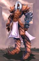 character commission -Templar by ErikVonLehmann