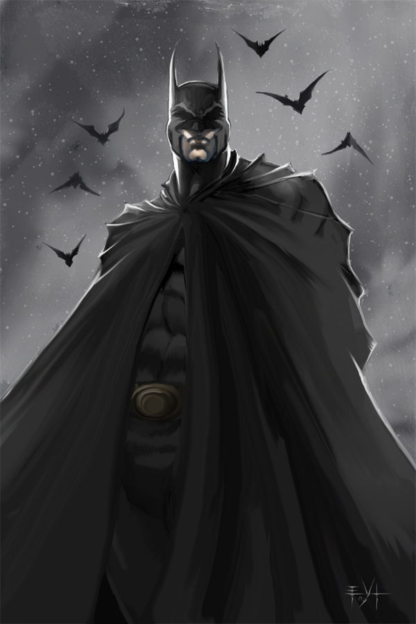 evl batman by ErikVonLehmann