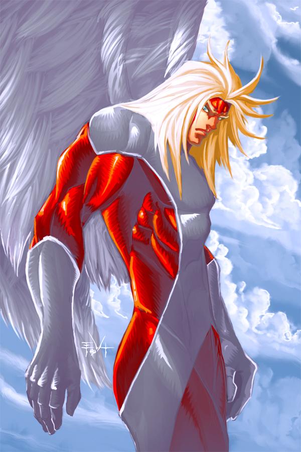Angel X-men by ErikVonLehmannX Men Angel Wings Scene