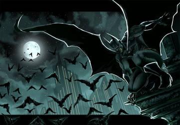 batman gotham by ErikVonLehmann