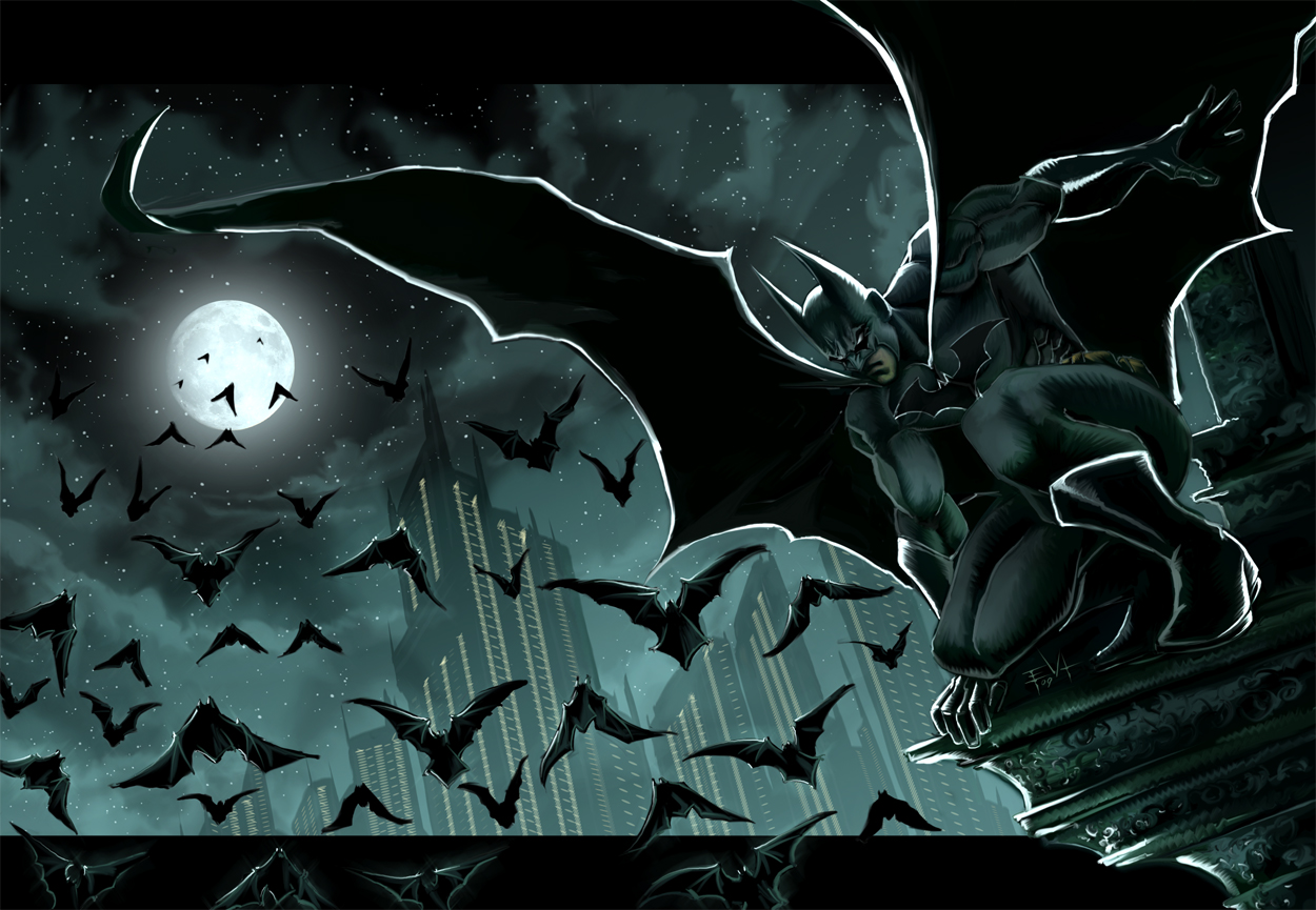 Part 14 / 9 Batman_gotham_by_ErikVonLehmann