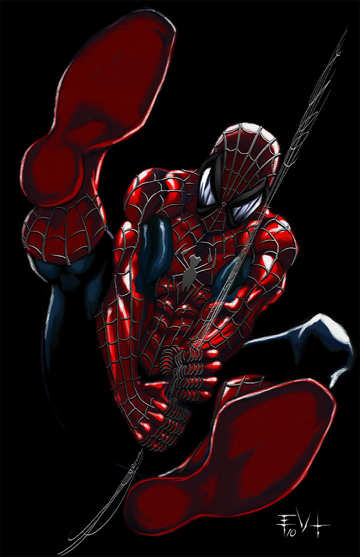 Spiderman Z by ErikVonLehmann