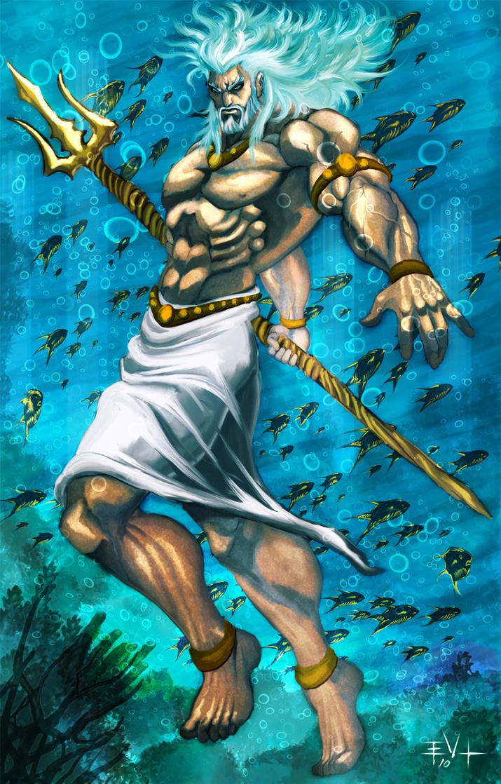 Poseidon by ErikVonLehmann on DeviantArt
