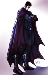 Bruce Wayne is The Batman by ErikVonLehmann