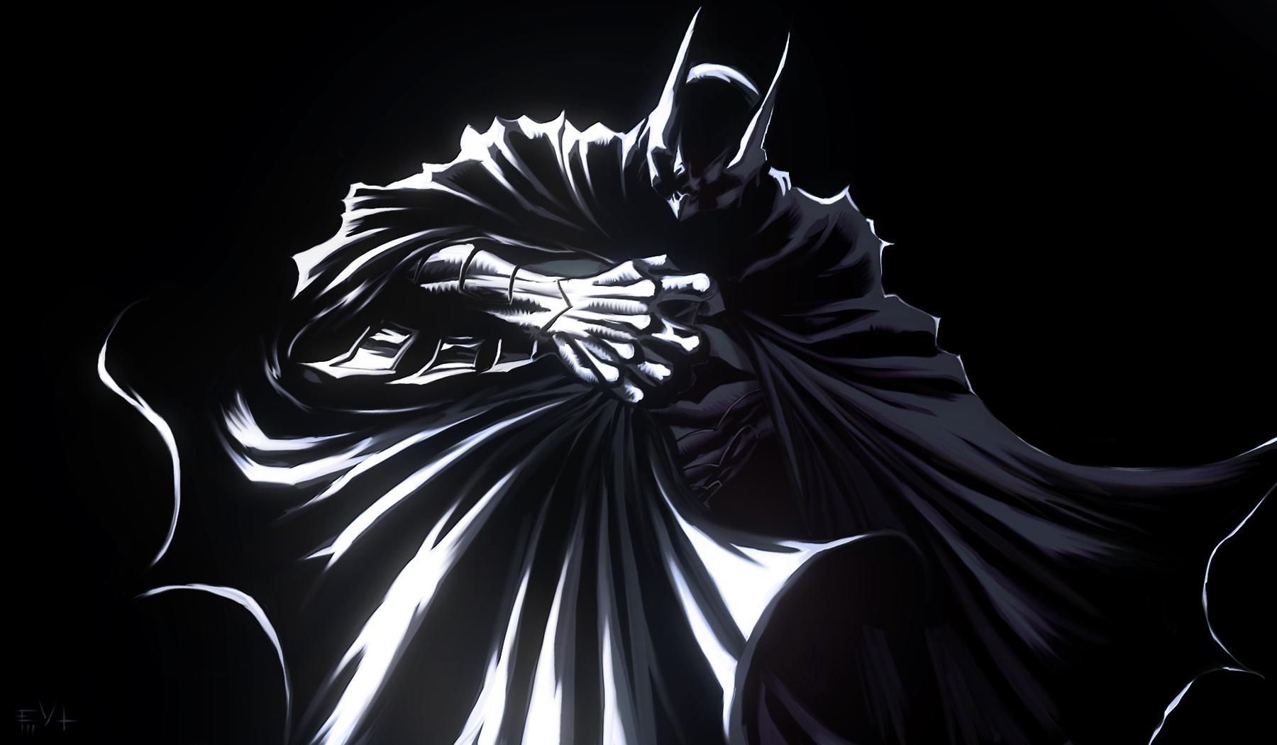 Batman Black By Erikvonlehmann On Deviantart