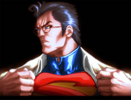 Clark Kent is Superman Color
