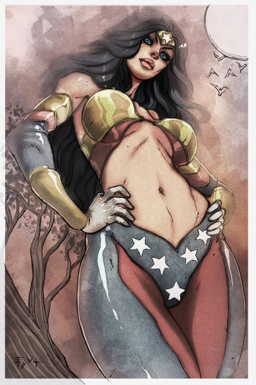 wonderwoman redesign by ErikVonLehmann