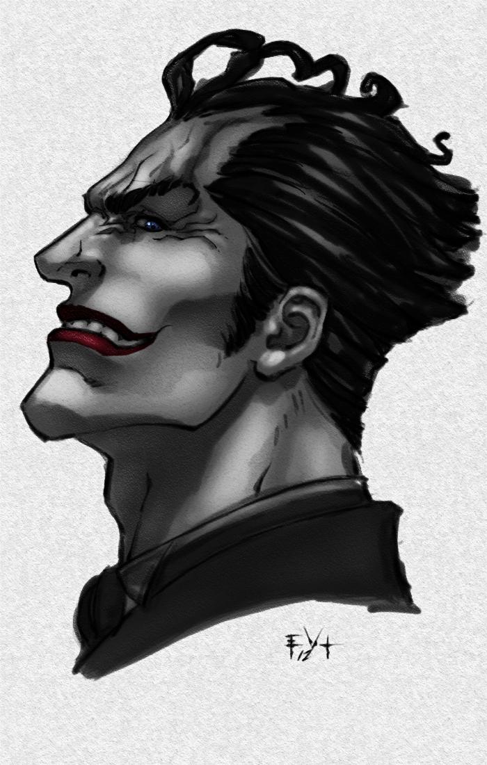 Joker sketch and video by ErikVonLehmann