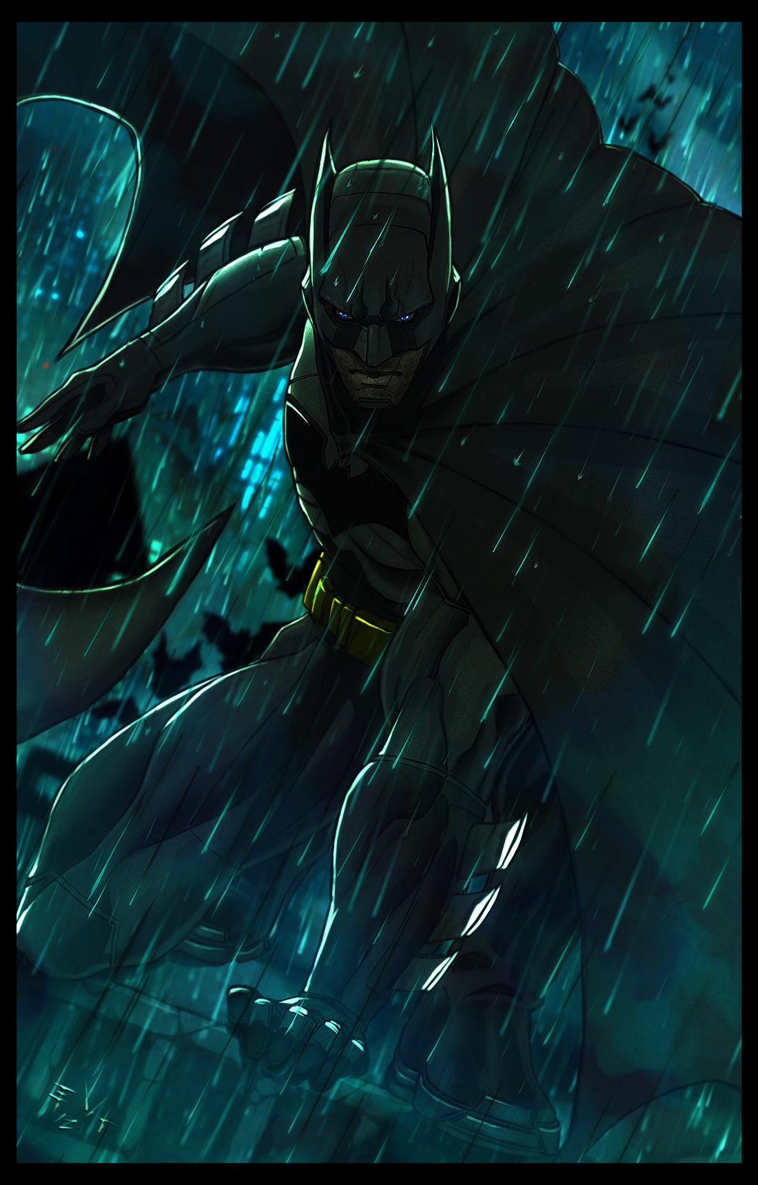 Gotham Storm by ErikVonLehmann