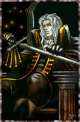 Alucard Castlevania by ErikVonLehmann