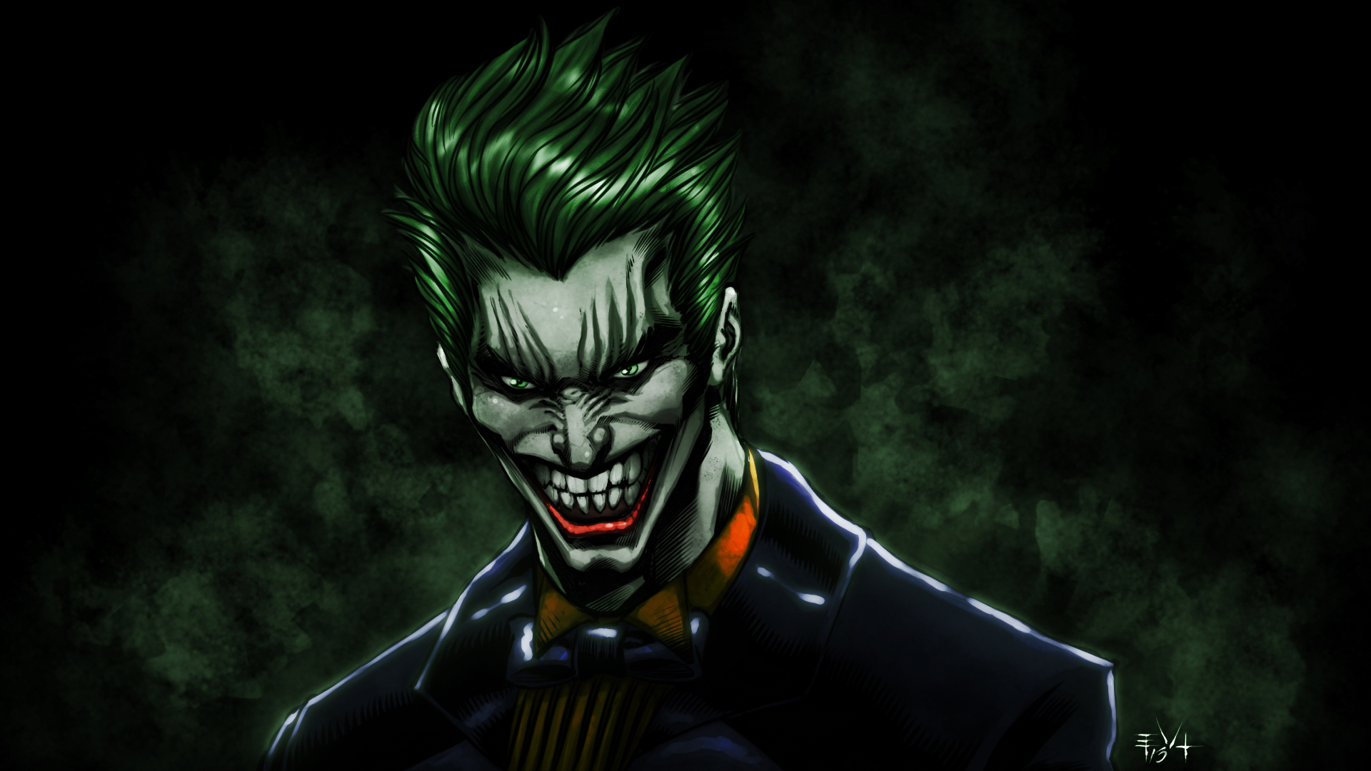 Joker Wall Art Canvas