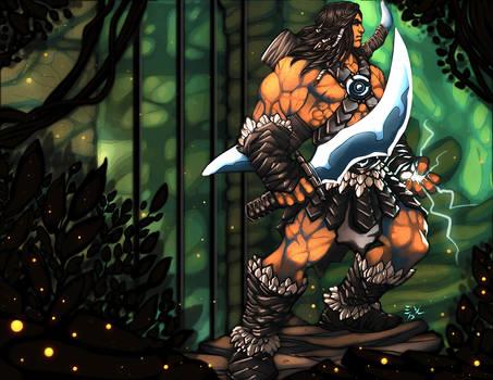 Blackbolt the Barbarian