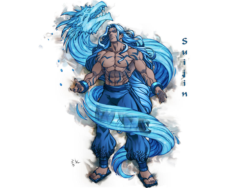 Suijin Water Dragon by ErikVonLehmann
