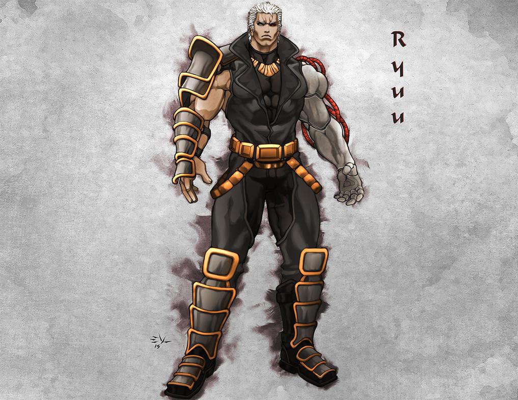 Ryuu son of Raoh by ErikVonLehmann