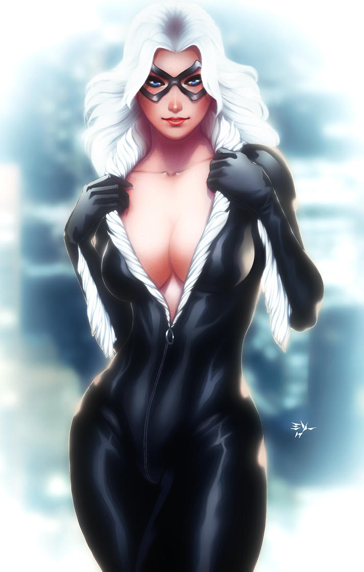 Black Cat Felicia Hardy by ErikVonLehmann