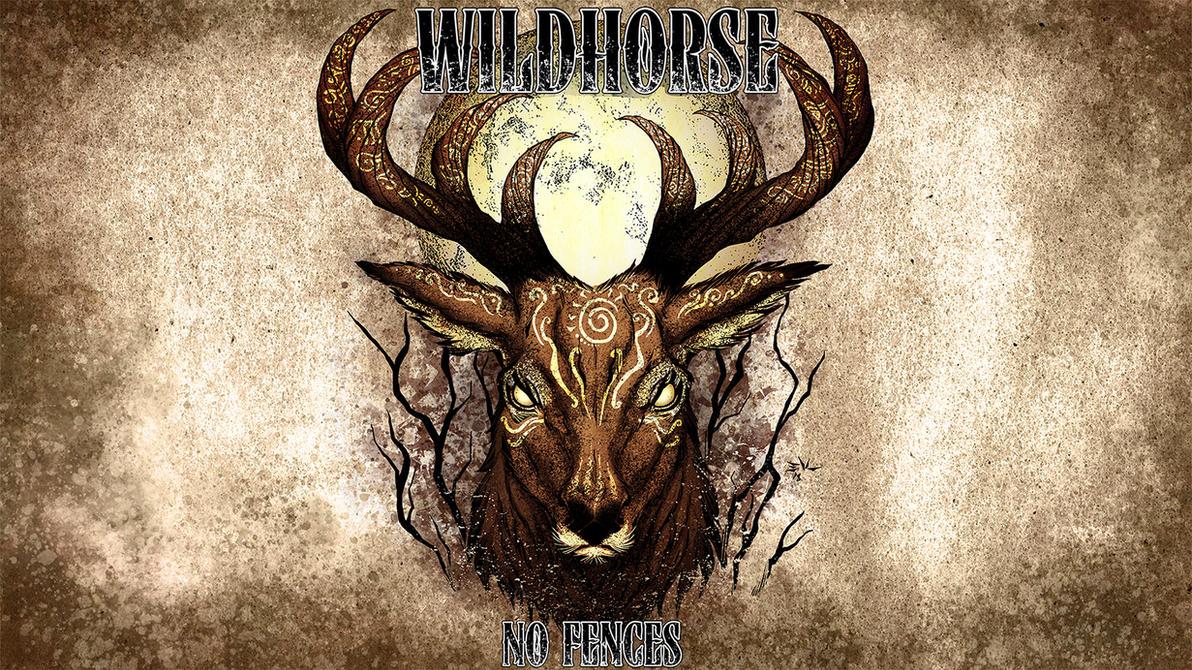 Wildhorse-Badass Deer by ErikVonLehmann
