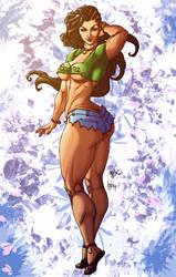 Laura-Streetfighter V