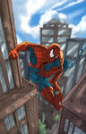 Spiderman Swinging
