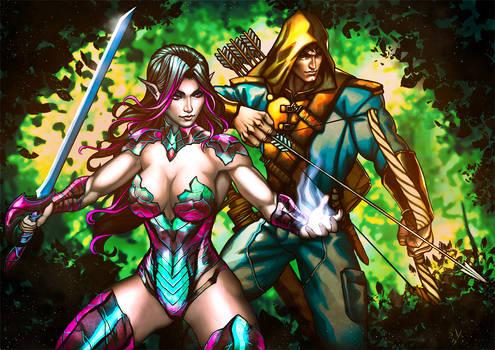 Kerrilandra and Ethran