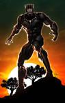 Black Panther by ErikVonLehmann
