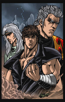 Fist of the North Star- colors