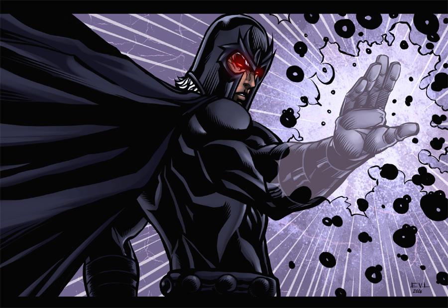 Erik Magnus-Magneto-Black by ErikVonLehmann