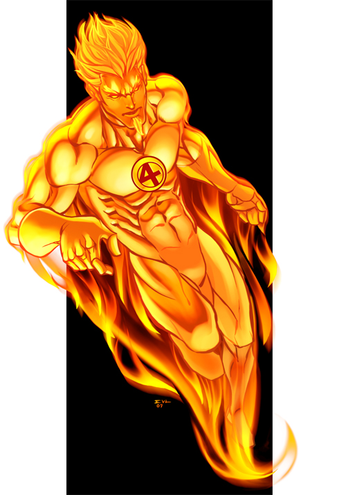 The Human Torch by ErikVonLehmann