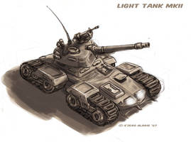 Light Tank mkII by s0lar1x