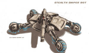 Stealth Sniper Bot by s0lar1x