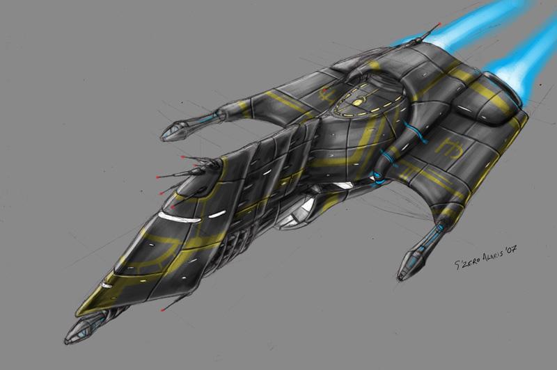 Spaceship design by s0lar1x