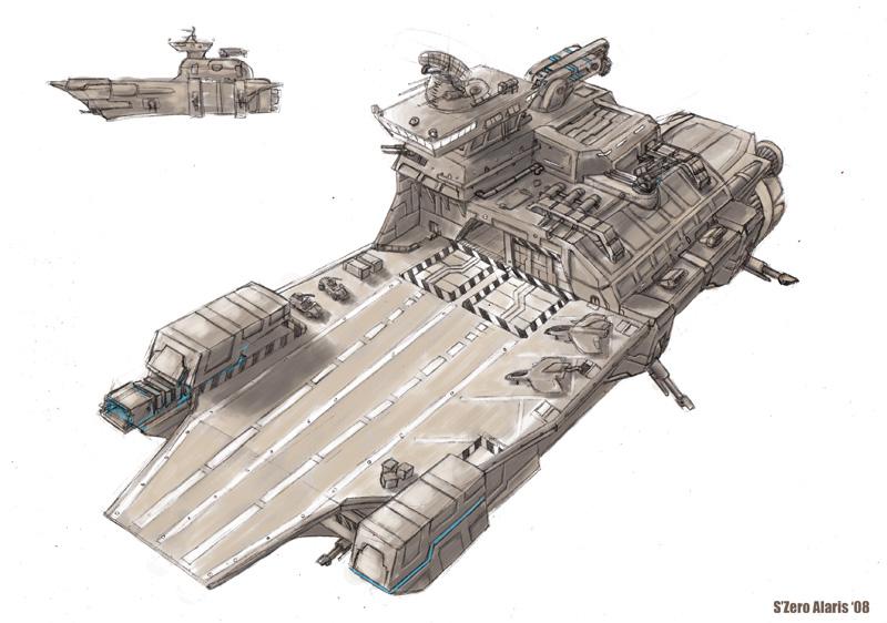 Hybrid Airship by s0lar1x