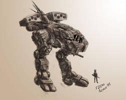Walker prototype by s0lar1x