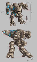 Walker concepts by s0lar1x