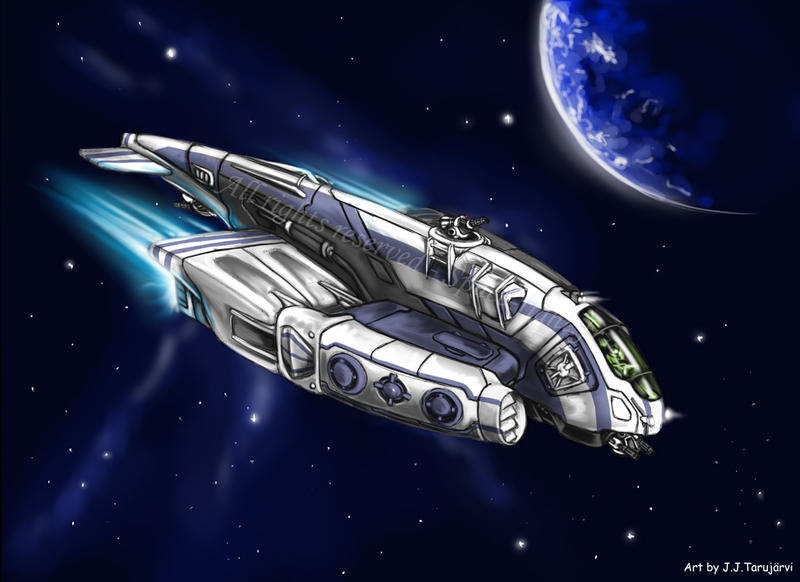 Spacefight - Escorter by s0lar1x