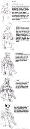 Anthro drawing tutorial 2