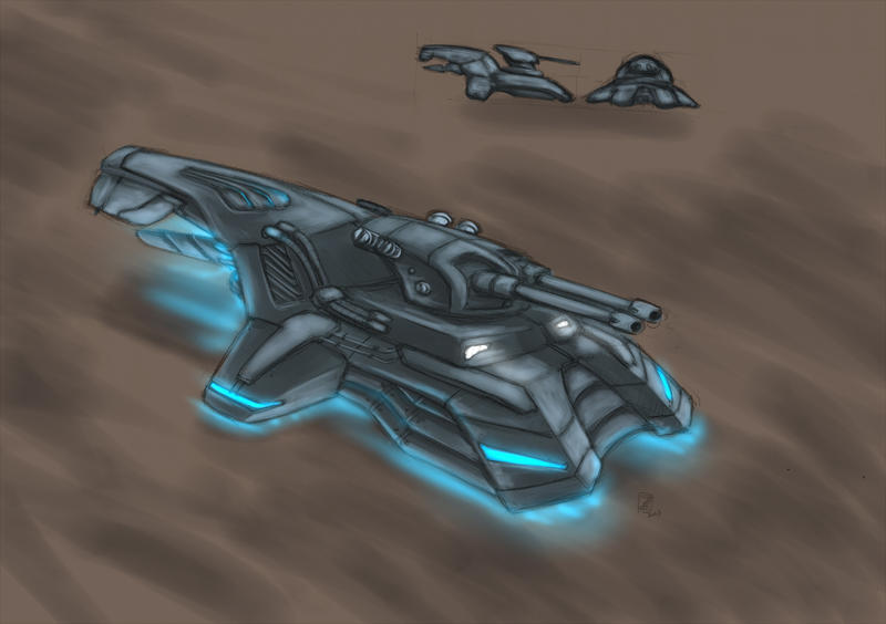 Hovertank by s0lar1x