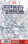 thor vs hulk by BienFlores