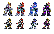 x8 armors (32 and 16 bit) by kensuyjin33