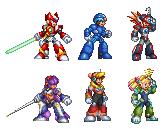 sprites x8 team by kensuyjin33
