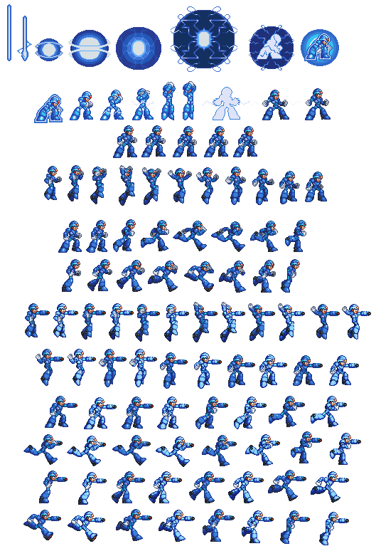 Megaman X Battle in Time Sprites_megaman_x8_in_32_bit__incompleted__by_kensuyjin33-d5s5igs