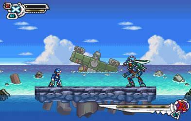 Splash Warfly DEMAKE - megaman x7 - by Kensuyjin33 by kensuyjin33