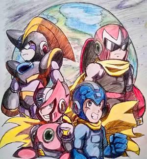 Megaman Final - 2014 Art
