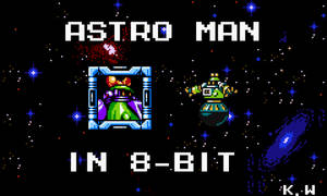 Astroman in 8 bit MMnB Demake by kensuyjin33
