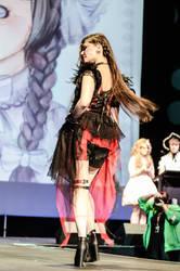 On stage: not that glamorous. by xxxxrayne