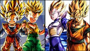 Super Saiyans (DB Legends Edit)